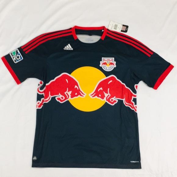f8a2c2534ed Men s Adidas Red Bull MLS Clima Cool Soccer Shirt